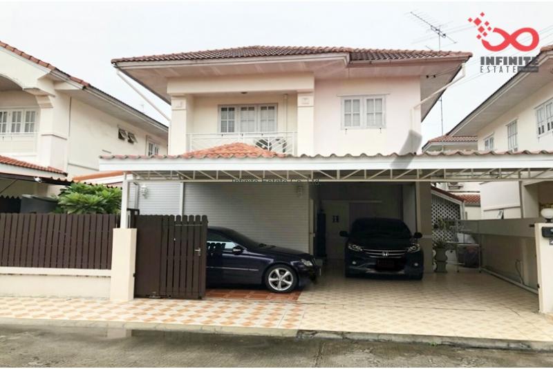 บ้านเดี่ยว 2 ชั้น หมู่บ้านบุรีรมย์ รามอินทรา – คู้บอน ถนนเลียบคลองสอง