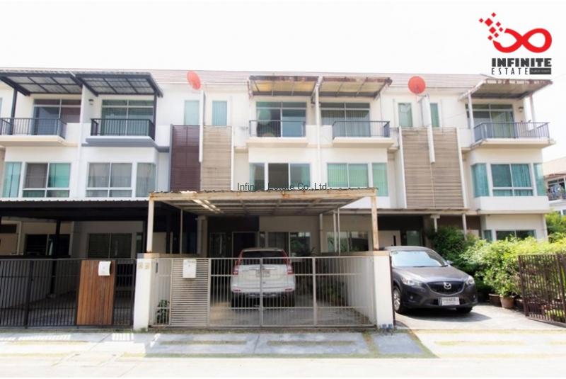 ทาวน์โฮม 3 ชั้น หมู่บ้านบ้านใหม่ ถนนรามอินทรา ซอยคู้บอน28