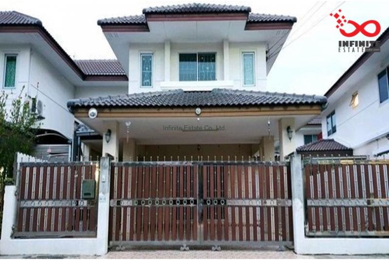 บ้านแฝด หมู่บ้านศศิภา บางบัวทอง ถนนบางกรวย - ไทรน้อย ซอยเทศบาล1