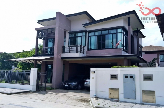 81767, บ้านเดี่ยว 2 ชั้น หมู่บ้านอควา ดิวินา ซอยรามคำแหง 94 ใกล้หมู่บ้านนันทวัน