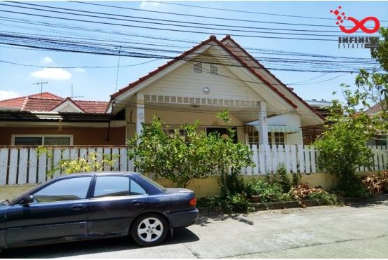 81683, บ้านเดี่ยว หมู่บ้านสายไหม - ริมชล 1 ถนนสายไหม